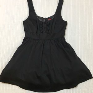 Silknlittle black dress! With tulle! fully lined!